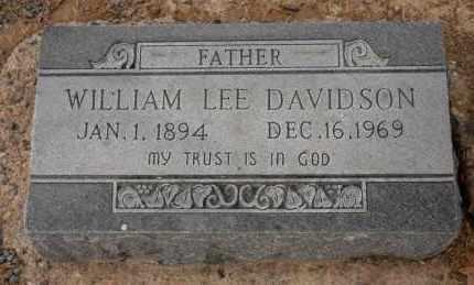 DAVIDSON, WILLIAM LEE - Pulaski County, Arkansas | WILLIAM LEE DAVIDSON - Arkansas Gravestone Photos