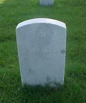 DAVIESON (VETERAN WWI), LEWIS E - Pulaski County, Arkansas | LEWIS E DAVIESON (VETERAN WWI) - Arkansas Gravestone Photos
