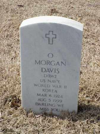DAVIS  (VETERAN 2 WARS), O MORGAN - Pulaski County, Arkansas | O MORGAN DAVIS  (VETERAN 2 WARS) - Arkansas Gravestone Photos