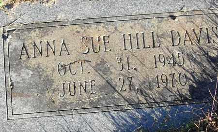 HILL DAVIS, ANNA SUE - Pulaski County, Arkansas | ANNA SUE HILL DAVIS - Arkansas Gravestone Photos