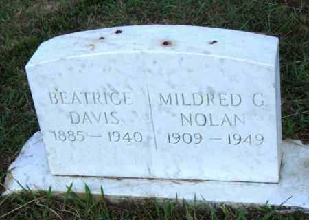 NOLAN, MILDRED C - Pulaski County, Arkansas   MILDRED C NOLAN - Arkansas Gravestone Photos