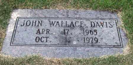 DAVIS, JOHN WALLACE - Pulaski County, Arkansas   JOHN WALLACE DAVIS - Arkansas Gravestone Photos