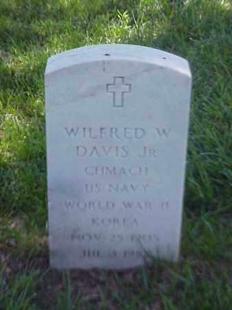 DAVIS, JR (VETERAN 2 WARS), WILFRED W - Pulaski County, Arkansas   WILFRED W DAVIS, JR (VETERAN 2 WARS) - Arkansas Gravestone Photos
