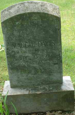 DAVIS, MAGGIE - Pulaski County, Arkansas   MAGGIE DAVIS - Arkansas Gravestone Photos