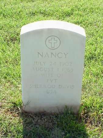 DAVIS, NANCY - Pulaski County, Arkansas | NANCY DAVIS - Arkansas Gravestone Photos