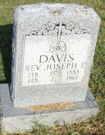 DAVIS, REV., JOSEPH I. - Pulaski County, Arkansas | JOSEPH I. DAVIS, REV. - Arkansas Gravestone Photos