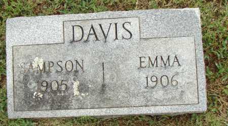 DAVIS, SAMPSON - Pulaski County, Arkansas | SAMPSON DAVIS - Arkansas Gravestone Photos