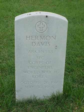 DAVIS (VETERAN 2 WARS), HERMON - Pulaski County, Arkansas | HERMON DAVIS (VETERAN 2 WARS) - Arkansas Gravestone Photos