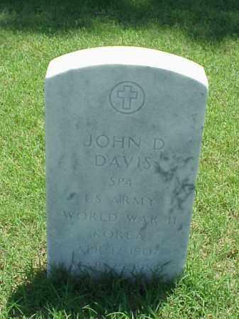 DAVIS (VETERAN 2 WARS), JOHN D - Pulaski County, Arkansas | JOHN D DAVIS (VETERAN 2 WARS) - Arkansas Gravestone Photos