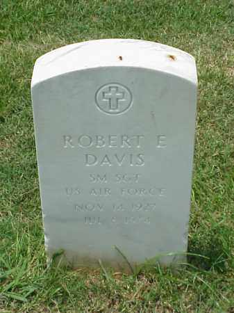 DAVIS (VETERAN 2 WARS), ROBERT E - Pulaski County, Arkansas | ROBERT E DAVIS (VETERAN 2 WARS) - Arkansas Gravestone Photos