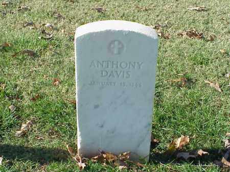 DAVIS (VETERAN UNION), ANTHONY - Pulaski County, Arkansas   ANTHONY DAVIS (VETERAN UNION) - Arkansas Gravestone Photos