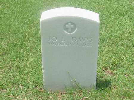 DAVIS (VETERAN UNION), JO L - Pulaski County, Arkansas | JO L DAVIS (VETERAN UNION) - Arkansas Gravestone Photos