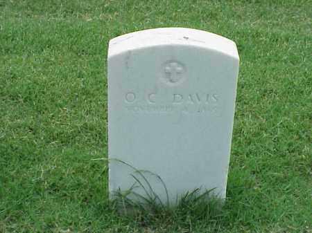 DAVIS (VETERAN UNION), O C - Pulaski County, Arkansas   O C DAVIS (VETERAN UNION) - Arkansas Gravestone Photos