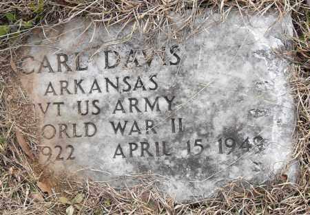 DAVIS (VETERAN WWII), CARL - Pulaski County, Arkansas | CARL DAVIS (VETERAN WWII) - Arkansas Gravestone Photos