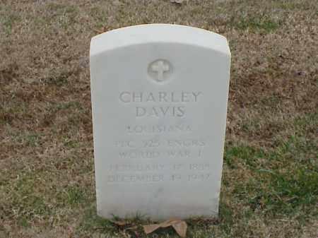 DAVIS (VETERAN WWI), CHARLEY - Pulaski County, Arkansas | CHARLEY DAVIS (VETERAN WWI) - Arkansas Gravestone Photos