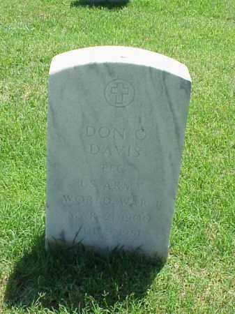 DAVIS (VETERAN WWI), DON O - Pulaski County, Arkansas   DON O DAVIS (VETERAN WWI) - Arkansas Gravestone Photos