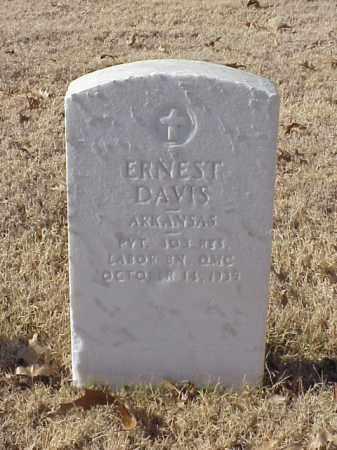 DAVIS (VETERAN WWI), ERNEST - Pulaski County, Arkansas | ERNEST DAVIS (VETERAN WWI) - Arkansas Gravestone Photos