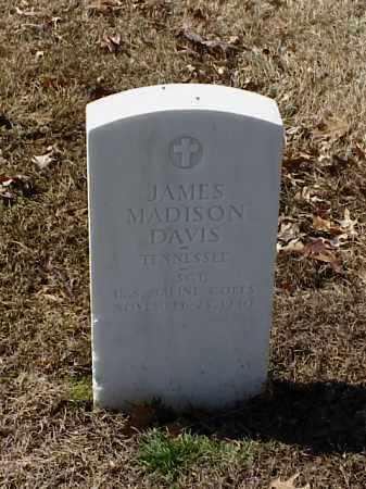 DAVIS (VETERAN WWI), JAMES MADISON - Pulaski County, Arkansas | JAMES MADISON DAVIS (VETERAN WWI) - Arkansas Gravestone Photos