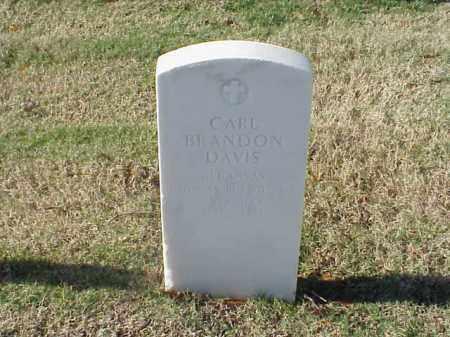 DAVIS (VETERAN WWII), CARL BRANDON - Pulaski County, Arkansas | CARL BRANDON DAVIS (VETERAN WWII) - Arkansas Gravestone Photos