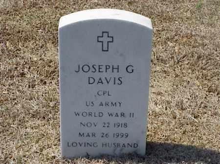 DAVIS (VETERAN WWII), JOSEPH G - Pulaski County, Arkansas | JOSEPH G DAVIS (VETERAN WWII) - Arkansas Gravestone Photos