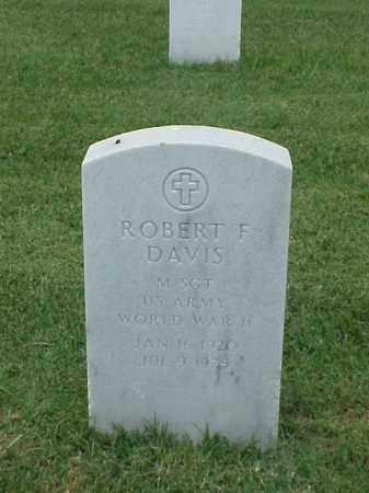 DAVIS (VETERAN WWII), ROBERT F - Pulaski County, Arkansas | ROBERT F DAVIS (VETERAN WWII) - Arkansas Gravestone Photos