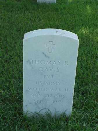 DAVIS (VETERAN WWII), THOMAS R - Pulaski County, Arkansas | THOMAS R DAVIS (VETERAN WWII) - Arkansas Gravestone Photos