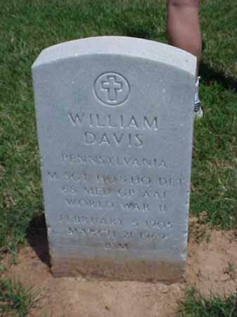 DAVIS (VETERAN WWII), WILLIAM - Pulaski County, Arkansas   WILLIAM DAVIS (VETERAN WWII) - Arkansas Gravestone Photos