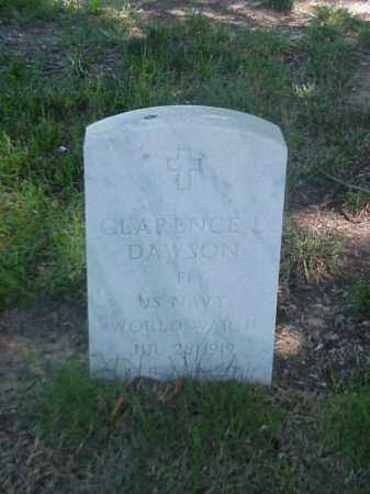 DAWSON (VETERAN WWII), CLARENCE L - Pulaski County, Arkansas | CLARENCE L DAWSON (VETERAN WWII) - Arkansas Gravestone Photos
