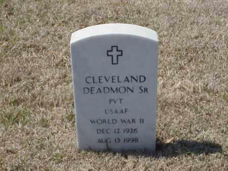 DEADMON, SR (VETERAN WWII), CLEVELAND - Pulaski County, Arkansas | CLEVELAND DEADMON, SR (VETERAN WWII) - Arkansas Gravestone Photos
