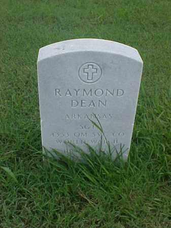 DEAN (VETERAN WWII), RAYMOND - Pulaski County, Arkansas   RAYMOND DEAN (VETERAN WWII) - Arkansas Gravestone Photos