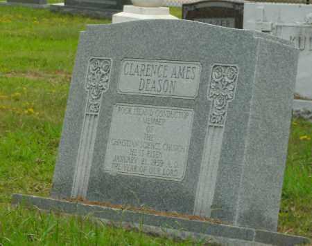 DEASON, CLARENCE AMES - Pulaski County, Arkansas   CLARENCE AMES DEASON - Arkansas Gravestone Photos