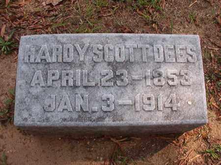 DEES, HARDY SCOTT - Pulaski County, Arkansas   HARDY SCOTT DEES - Arkansas Gravestone Photos