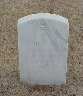 DEGRANDIS, NINA A - Pulaski County, Arkansas | NINA A DEGRANDIS - Arkansas Gravestone Photos