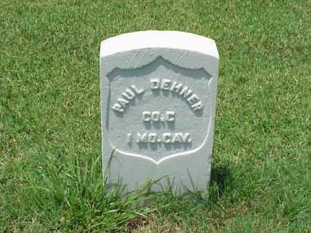 DEHNER (VETERAN UNION), PAUL - Pulaski County, Arkansas   PAUL DEHNER (VETERAN UNION) - Arkansas Gravestone Photos