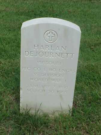 DEJOURNETT (VETERAN WWI), HARLAN - Pulaski County, Arkansas   HARLAN DEJOURNETT (VETERAN WWI) - Arkansas Gravestone Photos