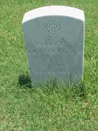 DELAHOUSSAY (VETERAN WWII), HARRY J - Pulaski County, Arkansas   HARRY J DELAHOUSSAY (VETERAN WWII) - Arkansas Gravestone Photos