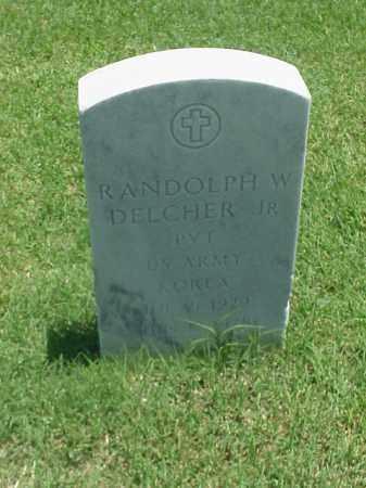 DELCHER, JR (VETERAN KOR), RANDOLPH W - Pulaski County, Arkansas   RANDOLPH W DELCHER, JR (VETERAN KOR) - Arkansas Gravestone Photos