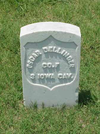 DELLINGER (VETERAN UNION), OSCAR - Pulaski County, Arkansas   OSCAR DELLINGER (VETERAN UNION) - Arkansas Gravestone Photos