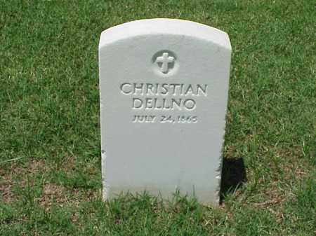 DELLNO, CHRISTIAN - Pulaski County, Arkansas   CHRISTIAN DELLNO - Arkansas Gravestone Photos