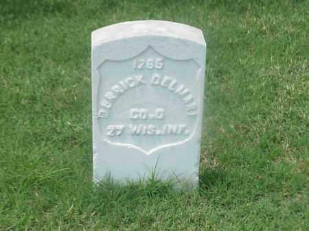 DELMART (VETERAN UNION), DERRICK - Pulaski County, Arkansas | DERRICK DELMART (VETERAN UNION) - Arkansas Gravestone Photos