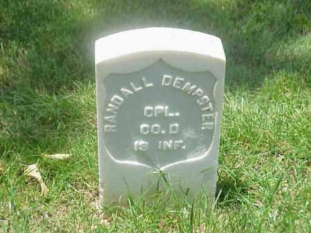 DEMPSTER (VETERAN UNION), RANDALL - Pulaski County, Arkansas   RANDALL DEMPSTER (VETERAN UNION) - Arkansas Gravestone Photos