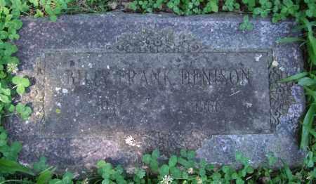 DENISON, BILLY FRANK - Pulaski County, Arkansas | BILLY FRANK DENISON - Arkansas Gravestone Photos