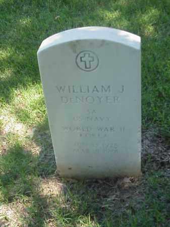 DENOYER (VETERAN 2 WARS), WILLIAM J - Pulaski County, Arkansas   WILLIAM J DENOYER (VETERAN 2 WARS) - Arkansas Gravestone Photos