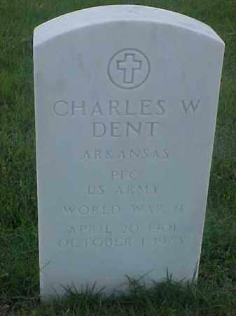DENT (VETERAN WWII), CHARLES W - Pulaski County, Arkansas | CHARLES W DENT (VETERAN WWII) - Arkansas Gravestone Photos