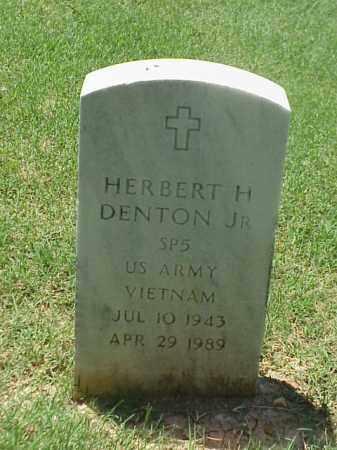 DENTON, JR (VETERAN VIET), HERBERT H - Pulaski County, Arkansas | HERBERT H DENTON, JR (VETERAN VIET) - Arkansas Gravestone Photos