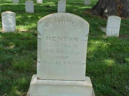 DENTON (VETERAN UNION), SAMUEL R - Pulaski County, Arkansas   SAMUEL R DENTON (VETERAN UNION) - Arkansas Gravestone Photos