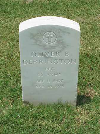 DERRINGTON (VETERAN WWII), OLIVER B - Pulaski County, Arkansas | OLIVER B DERRINGTON (VETERAN WWII) - Arkansas Gravestone Photos