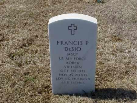 DESIO (VETERAN 2 WARS), FRANCIS P - Pulaski County, Arkansas | FRANCIS P DESIO (VETERAN 2 WARS) - Arkansas Gravestone Photos