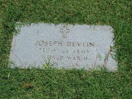 DEVLIN (VETERAN WWII), JOSEPH - Pulaski County, Arkansas | JOSEPH DEVLIN (VETERAN WWII) - Arkansas Gravestone Photos