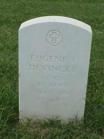 DEVINCKE (VETERAN WWII), EUGENE F - Pulaski County, Arkansas | EUGENE F DEVINCKE (VETERAN WWII) - Arkansas Gravestone Photos